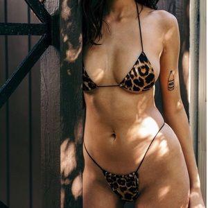 Micro Cheetah Print Bikini